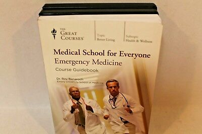 TEACHING CO GREAT Courses DVDs MEDICAL SCHOOL for EVERYONE