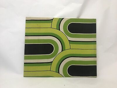 Unique Abstract Mid Century Modern Psychedelic Turner Design Canvas Art 44x36
