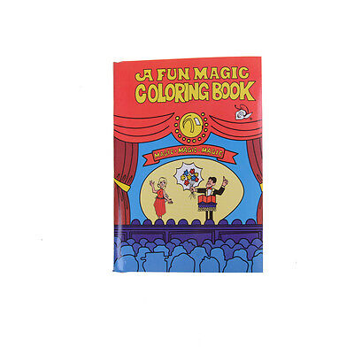 Fun Magic Coloring Book Magic Tricks Best For Children Stage Magic Toy 6H