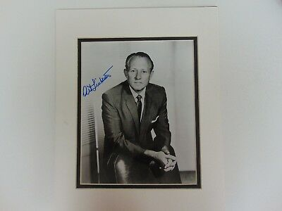 """House Party"" Art Linkletter Hand Signed 8X10 B&W Photo Todd Mueller COA"