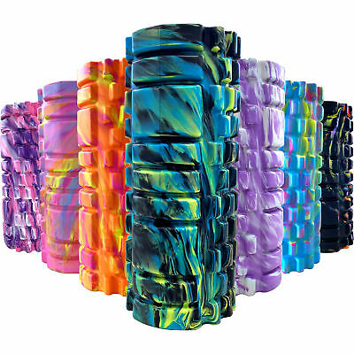 TnP Massage Grid Foam Roller Pilates Physio Yoga Muscle Rehab Trigger Point Gym