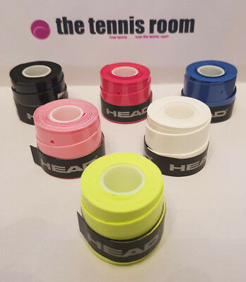 2 x Head Xtremesoft Grip/Overgrip (2) - Choice Of Colours - Free P&P