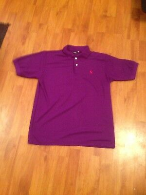 Polo By Ralph Lauren Mens Uk L Short Sleeved Polo Shirt
