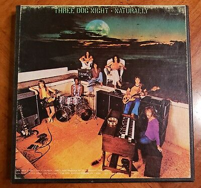 Three Dog Night - Naturally - reel to reel tape