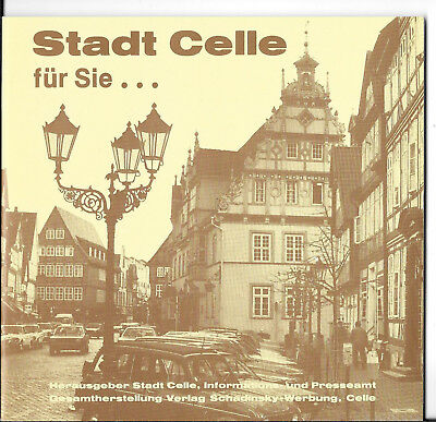Stadt Celle 1984 Flyer