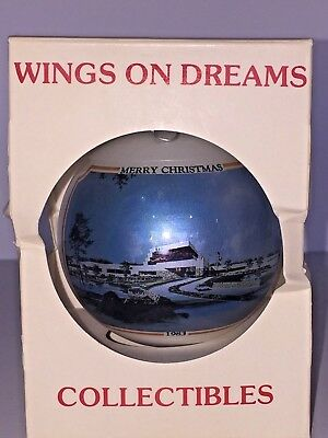 "1983 EAA Experimental Aircraft Association Christmas Ornament ""Wings on Dreams"""