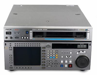 Sony SRW-5500 HDCAM SR Edit Recorder w/all Option Boards & Case NO RESERVE 3022