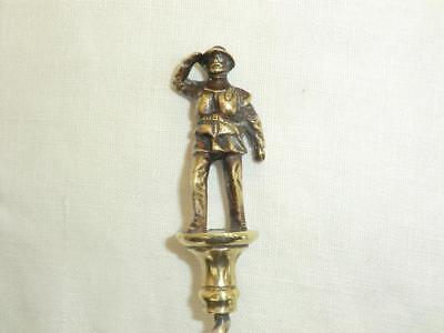 Superb, Well Detailed Solid Brass Vintage Corkscrew - Lifeboatman