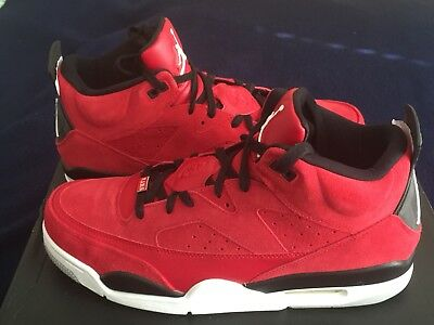 a04ea3d6658e86 Nike Air Jordan Son of Mars Low Size 11.5 Shoes Gym Red White Black 580603  603