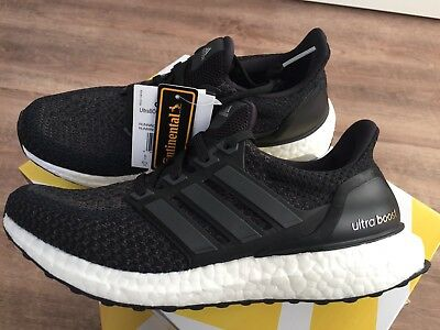 "5d1a374d03018 ADIDAS ULTRA BOOST 2.0 W ""Core Black OG"" EU38 BB3910 - EUR 219"