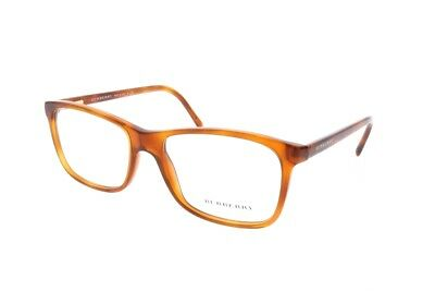 3dac2b093a New BURBERRY Frames Acetate Designer RX Eyeglasses Light Havana B 2178 3487  53mm