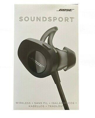Bose SoundSport 761529-0010 Wireless Bluetooth Neckband Headphones Black