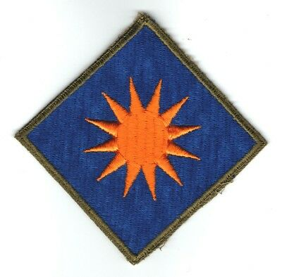 WW II US 40th INFANTRY DIVISION PATCH