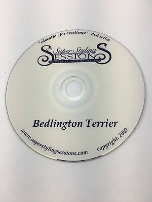 B1 Super Styling Sessions Dog Grooming Instructional DVD Bedlington Terrier