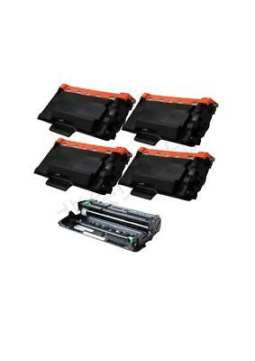 4PK TN850 TONER 1PK DR820 For BROTHER DCP-L5500DN DCP-L5600DN DCP-L5650DN