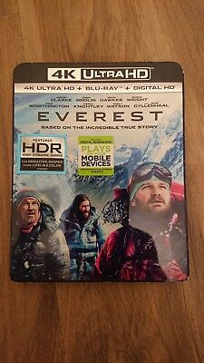 Everest 4K UHD Blu-ray hdr no reserve
