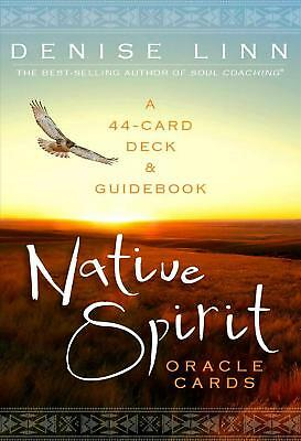 Native Spirit Oracle Cards - 44 Card Deck and Guidbook