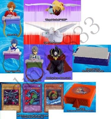 2006 McDonalds Yu-Gi-Oh MIP Complete Set - Lot of 8, Boys, 3+