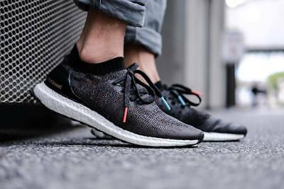 d49bd2416 Adidas Ultra Boost Uncaged Black Multi Color BB4486 running shoes sneakers  NEW