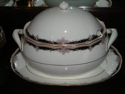 Noritake Palais Royal  Soup Tureen, Rare Hard To Find Spectacular & Unused Mint!