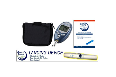 Freestyle Lite Blood Glucose Meter With Lancet, & Lancing Device
