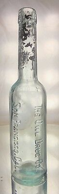 Owl Drug Co. Antique Florida Water Bottle. Small  Size