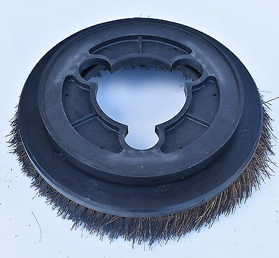 "Genuine 13"" Premiere Floor Polisher / Scrubber Bassine Polish & Burnishing Brush"