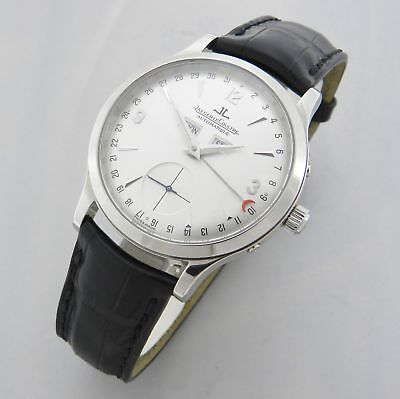 Jaeger Le-Coultre Master Control Triple Date 140.8.87 Watch 100% Genuine Mens
