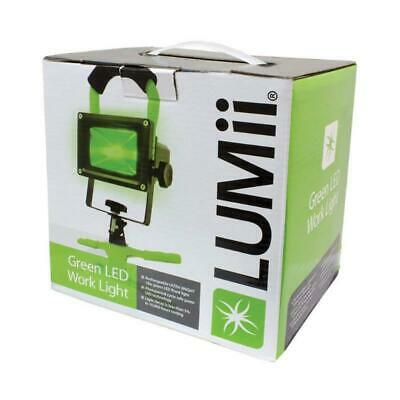 Green LED Work Lamp For Hydroponics - Indoor Horticultural Grow Room Night Light