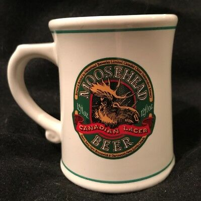 1981 Moosehead Beer The Official Tankards of The World's Great Breweries