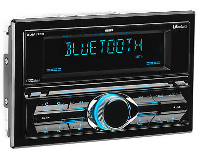 SOUNDSTORM Double 2 DIN Bluetooth MP3/AM/FM/USB/SD Player In-Dash Car Stereo