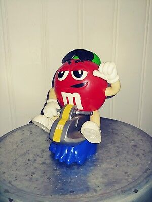 M&M Red Jetski Dispenser
