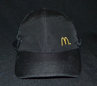 McDonalds Cap Collectable Black One Size Fits Most