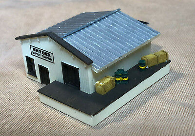 Old West UNDERTAKER Z-304 Easy to build Z Scale kit by Randy Brown