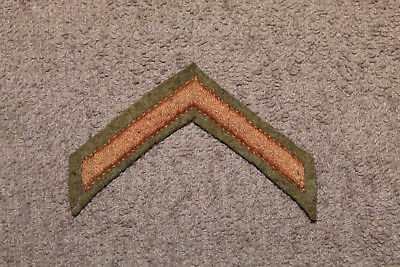 Original WW1 U.S. Army Soldiers Honorable Discharge Wool Uniform Stripe/Patch