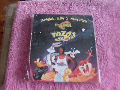 space jam the official tazos collectors album [new]