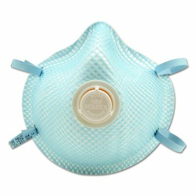 Moldex 2200N95 Disposable Respirator Case of 240 Direct from Moldex