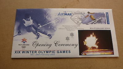 2002 Salt Lake City Winter Olympic Games Cover, Opening Ceremony 3