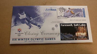 2002 Salt Lake City Winter Olympic Games Cover, Closing Ceremony 3