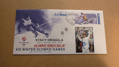 2002 Salt Lake City Winter Olympic Games Torch Relay Cover, Stacy Dragila