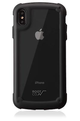 ROOT CO. iPhone XS Max Case Cover 6.5 Gravity Shock Resist Black Mat GST9P-BK