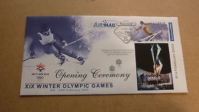 2002 Salt Lake City Winter Olympic Games Cov, Opening Ceremony Ice Hockey Team