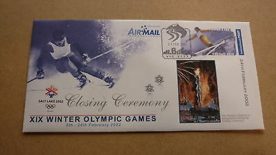 2002 Salt Lake City Winter Olympic Games Cover, Closing Ceremony 1