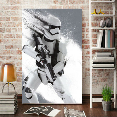 Print Stormtrooper Star Wars Movie film poster home decor wall art kids wall