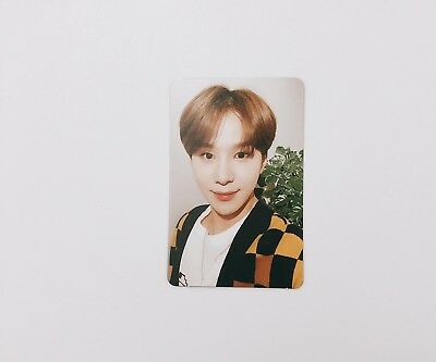OFFICIAL NCT 127 1st Repackage Regulate Jungwoo Photocard