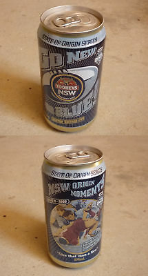 Old Australian Beer Can, Tooheys New, Nsw State Of Origin Memorable Moments