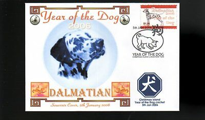 Year Of The Dog Stamp Illustrated Souvenir Cover, Dalmatian 5