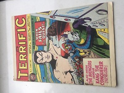 Comic Terrific (featuring Marvel characters) No5 13th April 1967