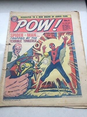 Comic POW (featuring Marvel Characters) No4 1967