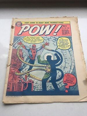 Comic POW (featuring Marvel Characters) No6 25th Feb1967